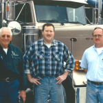 The original, now famous picture of our founders.  Eli Stutzman, John Fondriest and Eric Kimble, left to right.