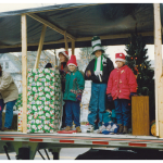 FCT taking part in a Christmas parade.